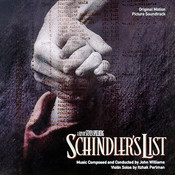 Partitura La lista de Schindler John Williams