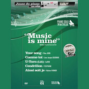Partitura Piano Solo Vol.1 (Niveau facile) Music is Mine