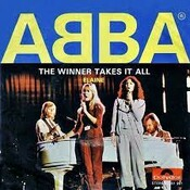 Partitura The Winner Takes It All ABBA