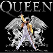 Partitura We are the champions Queen